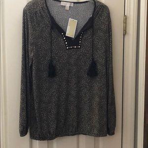 Michael Kors blouse size large